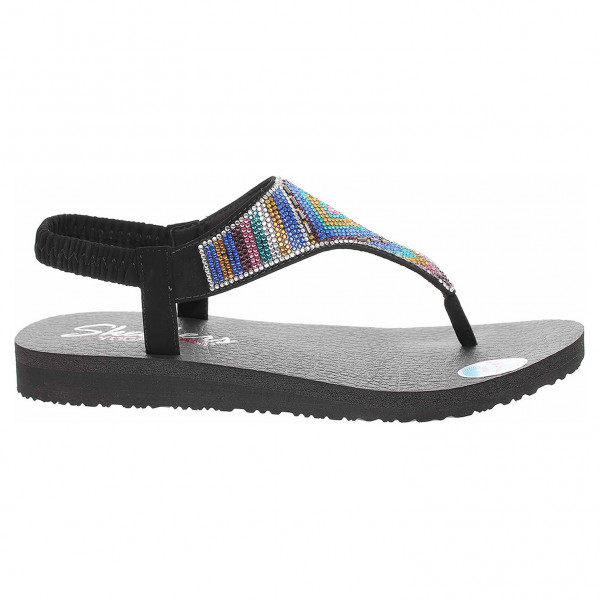 detail Skechers Meditation - Gypsy Glam black-multi