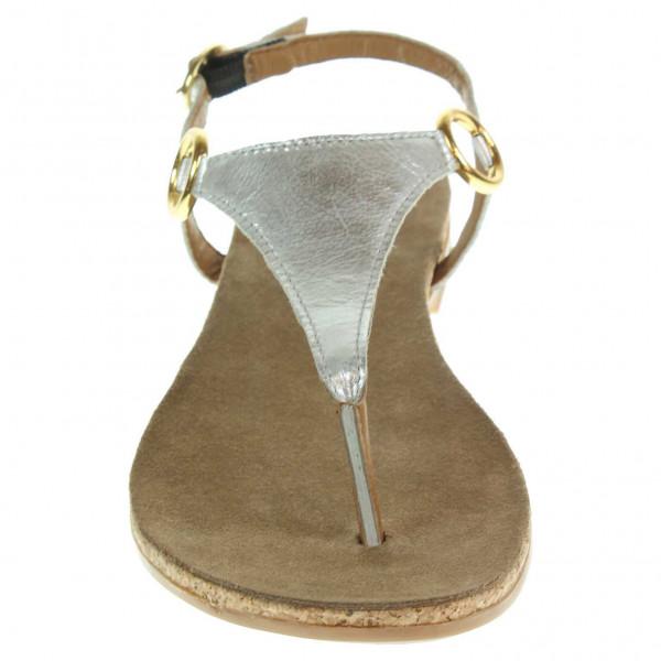 s.Oliver dámské sandály 5-28113-34 stříbrné  206fa88916