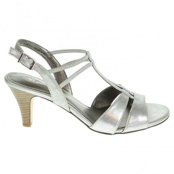 detail Tamaris dámské sandály 1-28304-26 stříbrné 40a48332b4