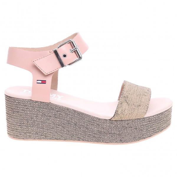 detail Tommy Hilfiger dámské sandály EN0EN00221 003 nude 58694b6020