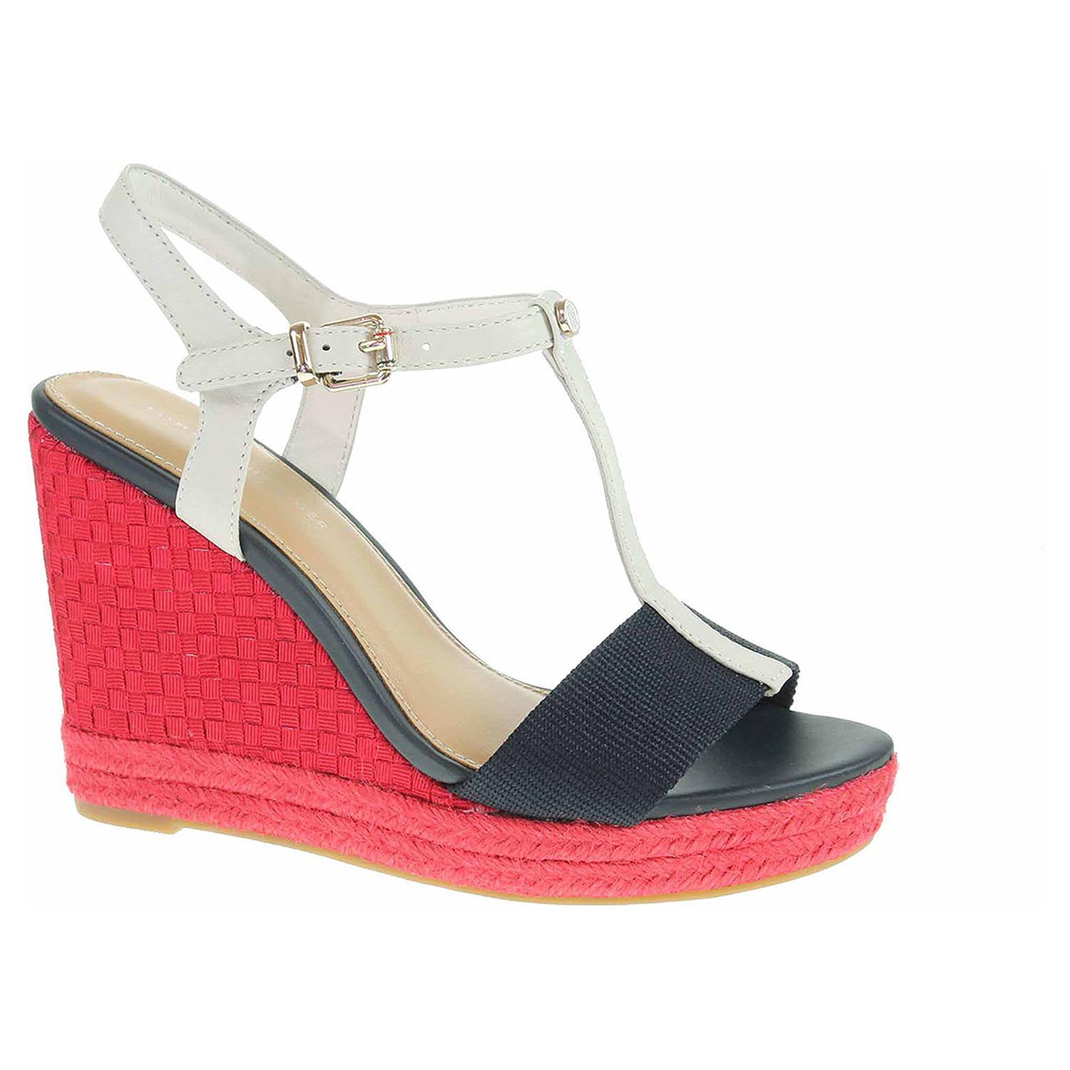cfb16aa62 Dámské sandály Tommy Hilfiger FW0FW02249 020 rwb | Rejnok obuv