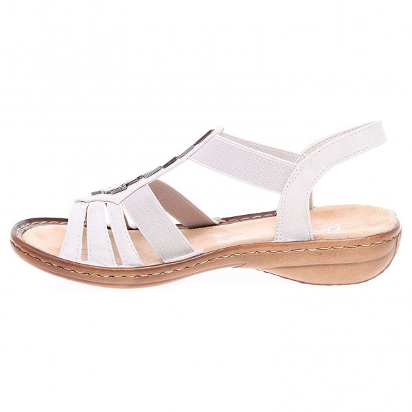 detail Rieker dámské sandály 60800-80 weiss f8d9827f46