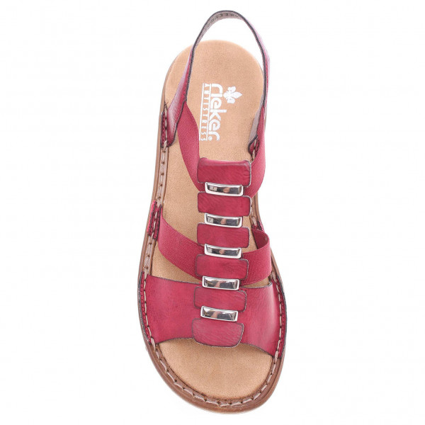 detail Rieker dámské sandály 62850-35 rot aa8213db83