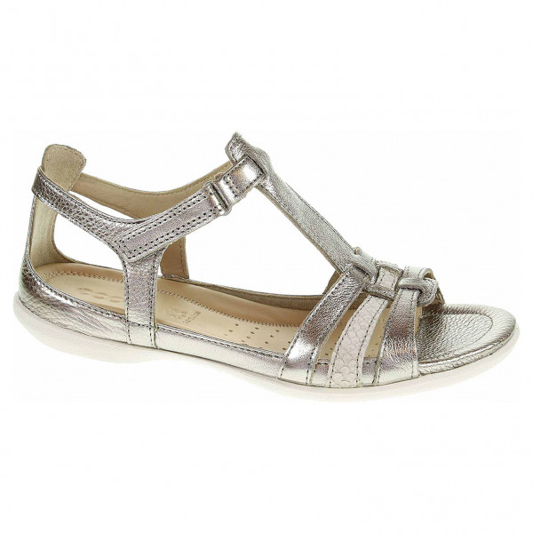 detail Dámské sandály Ecco Flash 24087357462 warm grey metallic-moon rock
