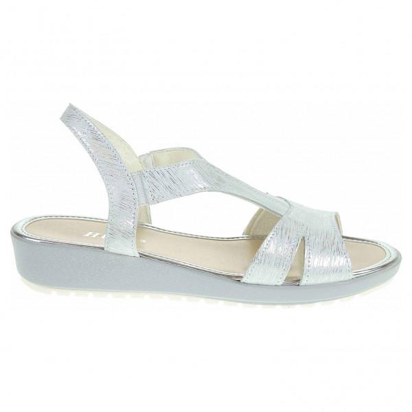 detail Dámské sandály EW 7610 stříbrná ca9ebd018c