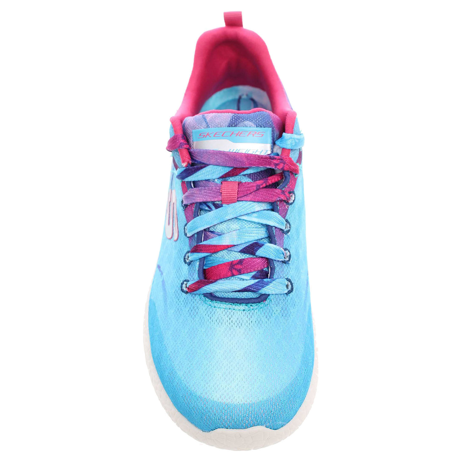 detail Skechers Life In Color blue-pink
