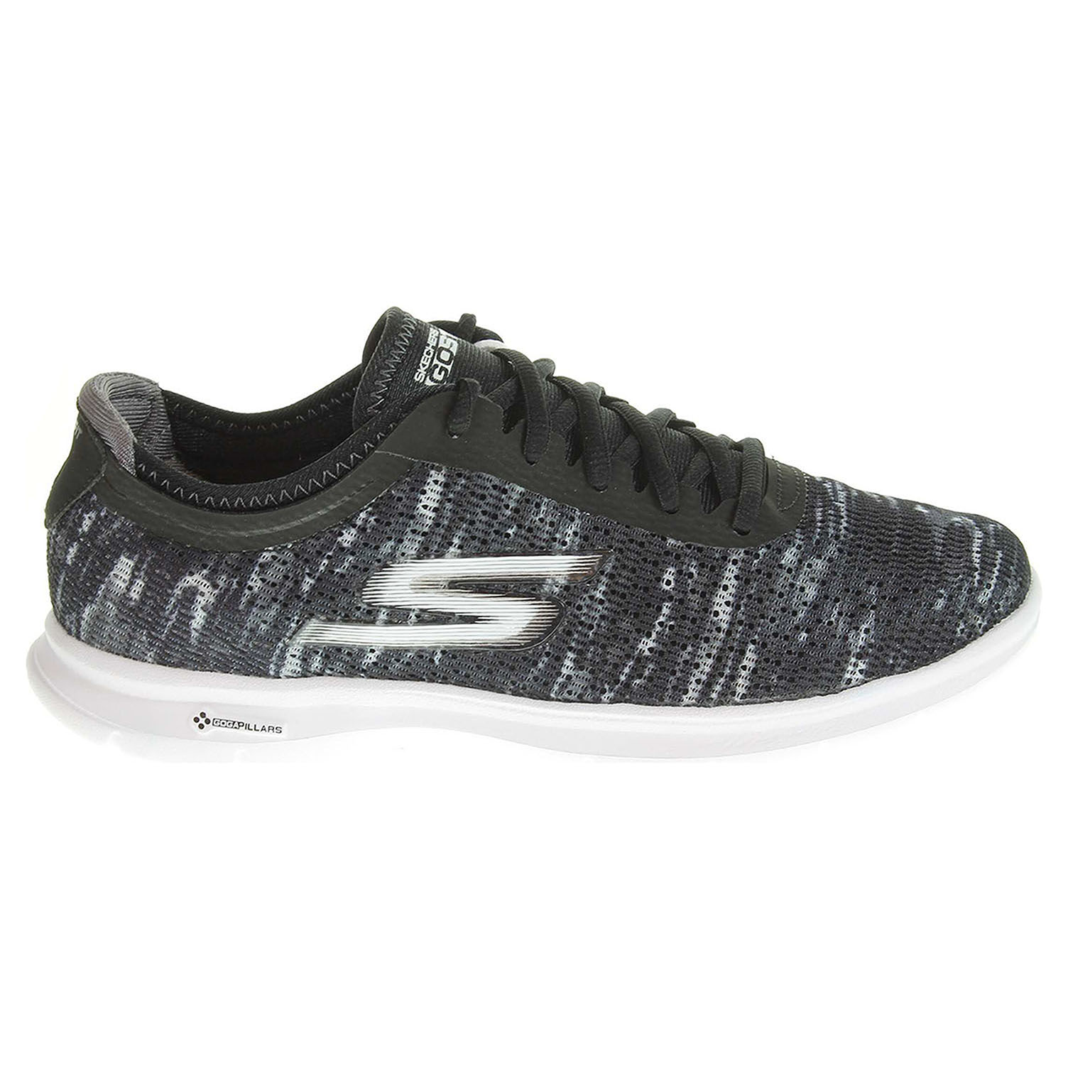 detail Skechers Go Step black-white