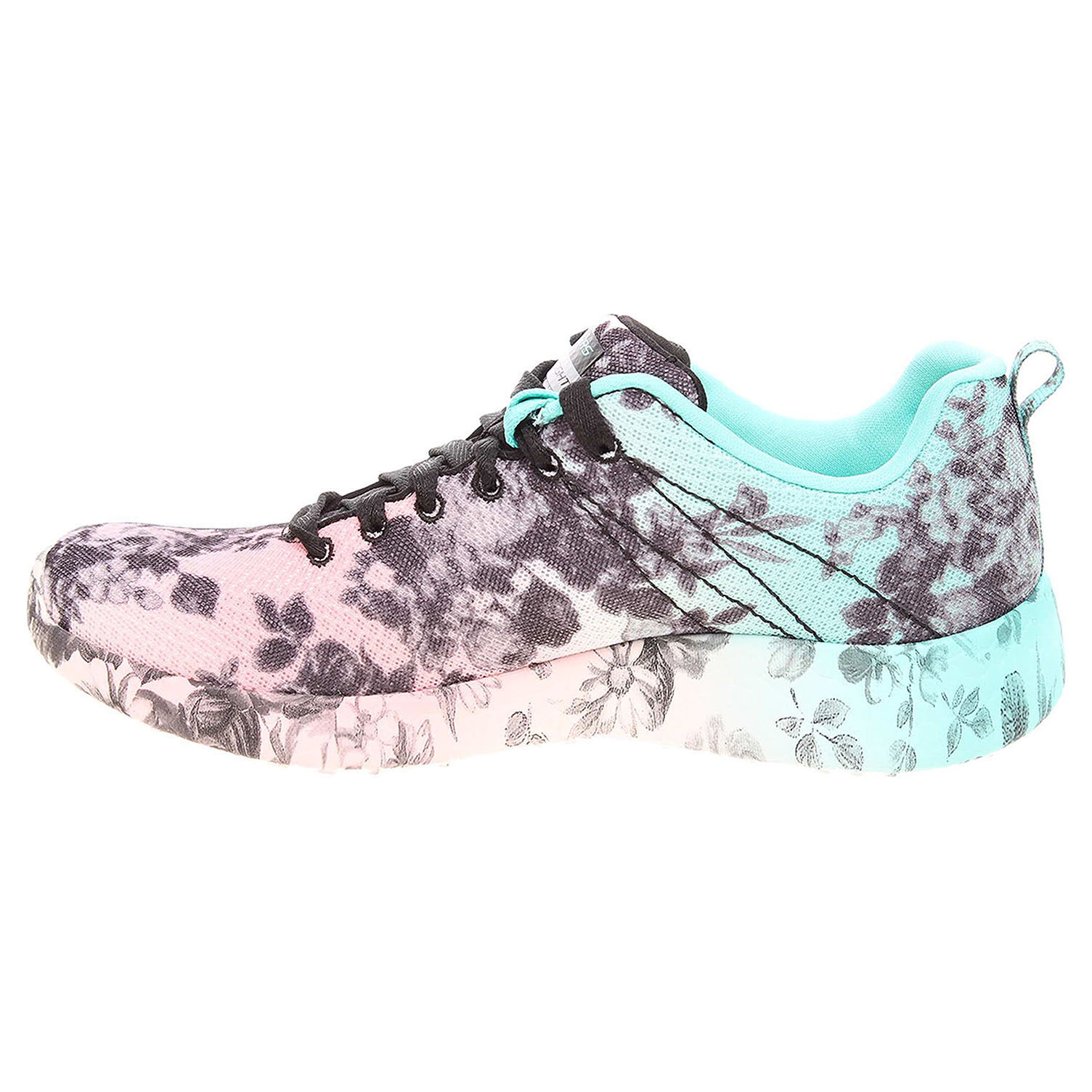 detail Skechers Burst Wild Rose black-multi