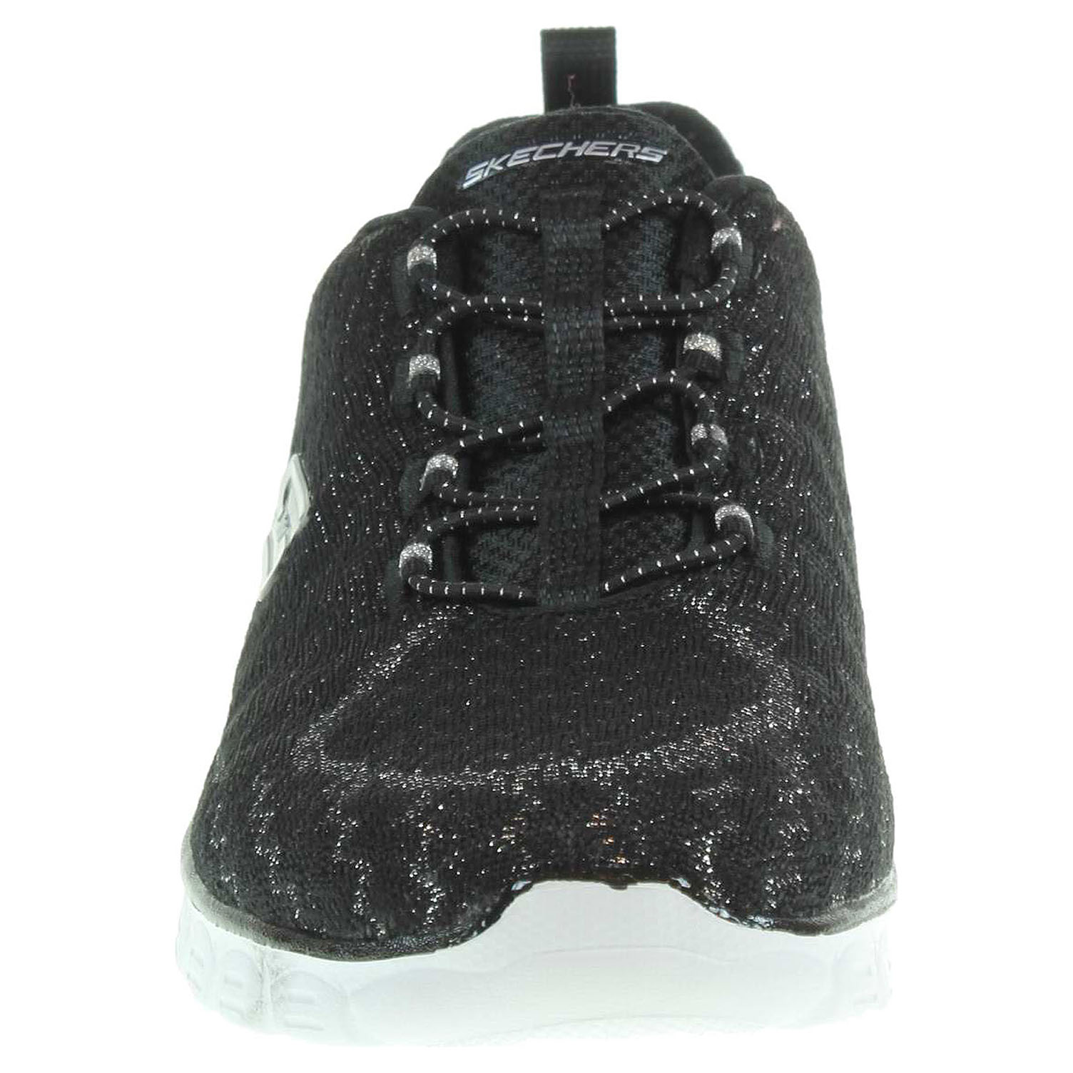detail Skechers Estrella black-white