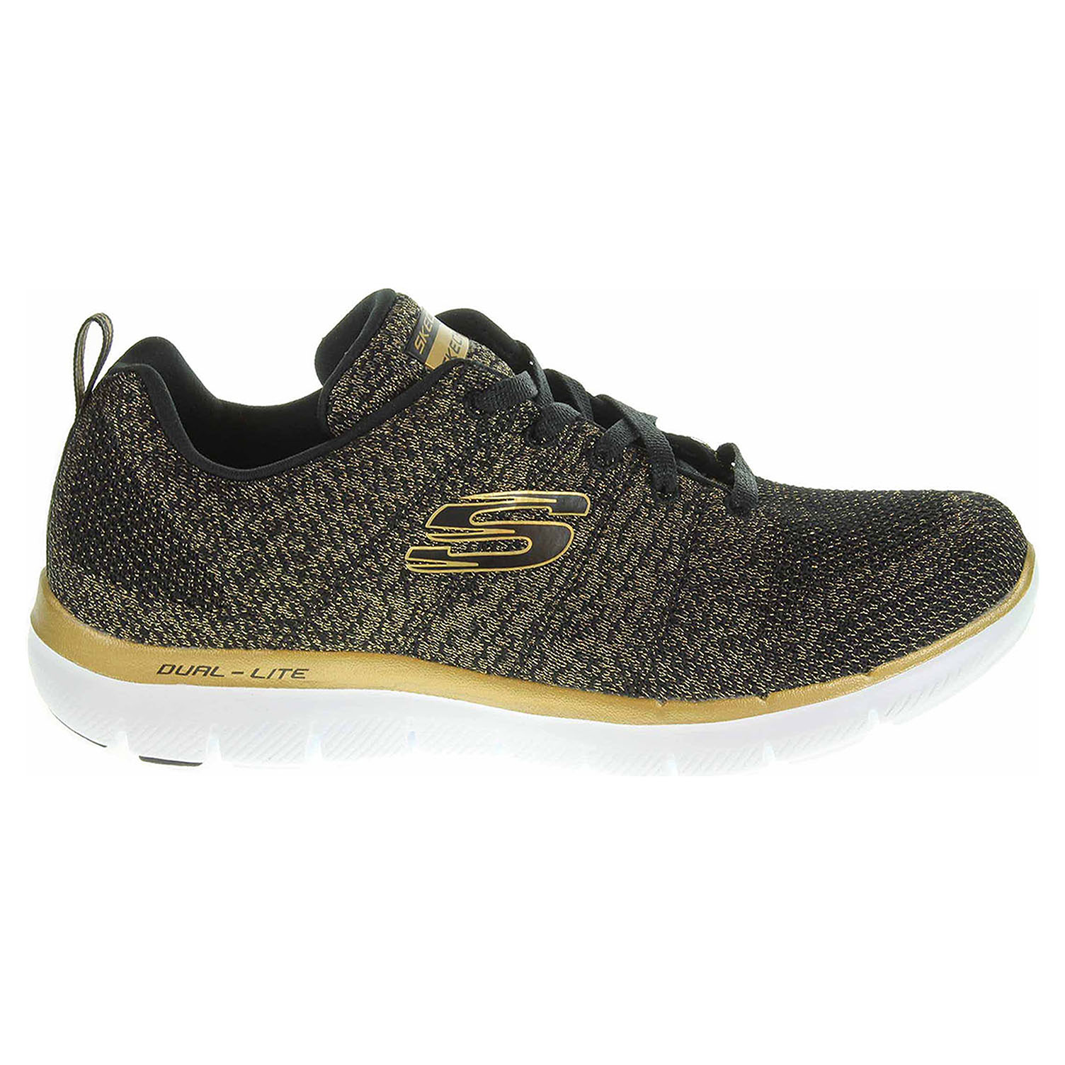 detail Skechers Flex Appeal 2.0 Opening Night black-gold