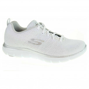 Skechers Flex Appeal 2.0 - Opening Night white-silver