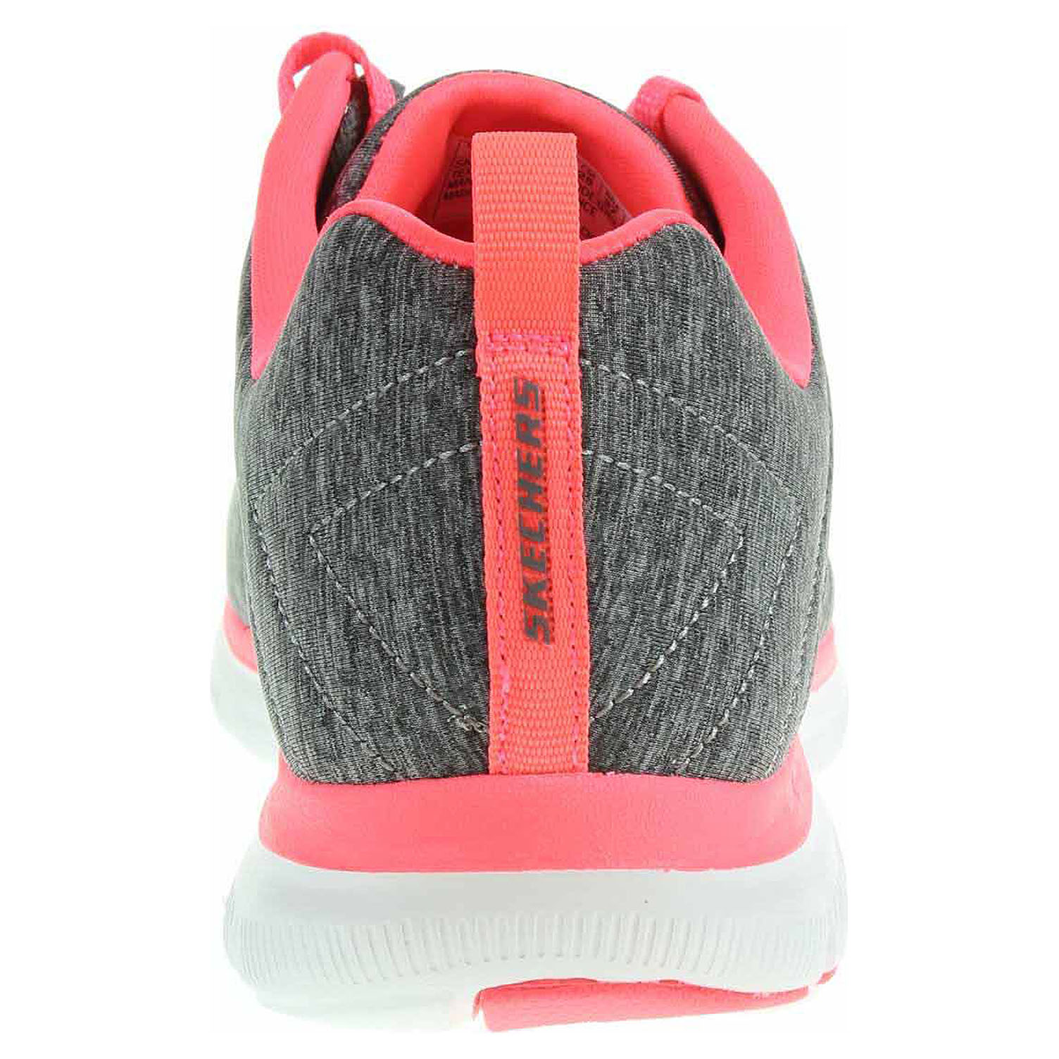 detail Skechers Flex Appeal 2.0 gray-coral