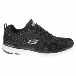 Skechers Flex Appeal 3.0 - Metal Works black-multi