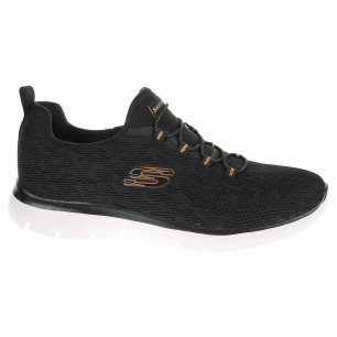 Skechers Summits - Leopard Spor black-rose gold