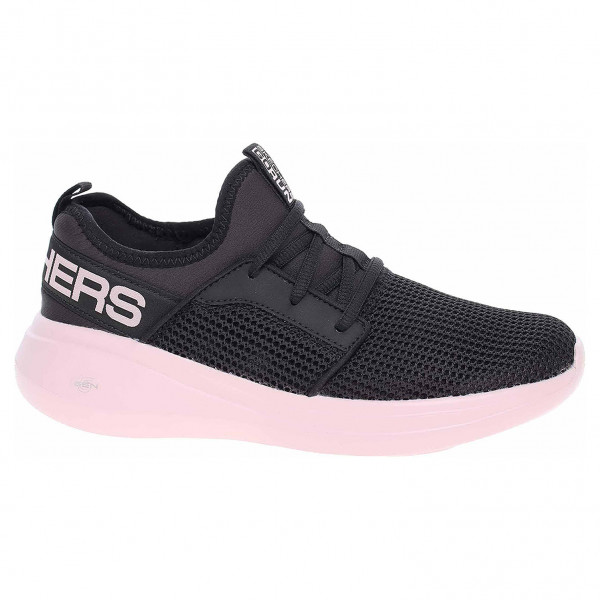 detail Skechers Go Run Fast - Quick Step black-pink