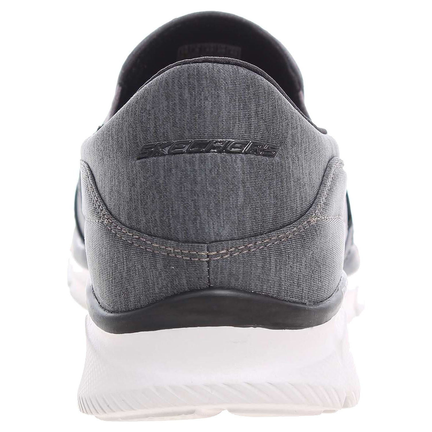 detail Skechers Forward Thinking charcoal-black
