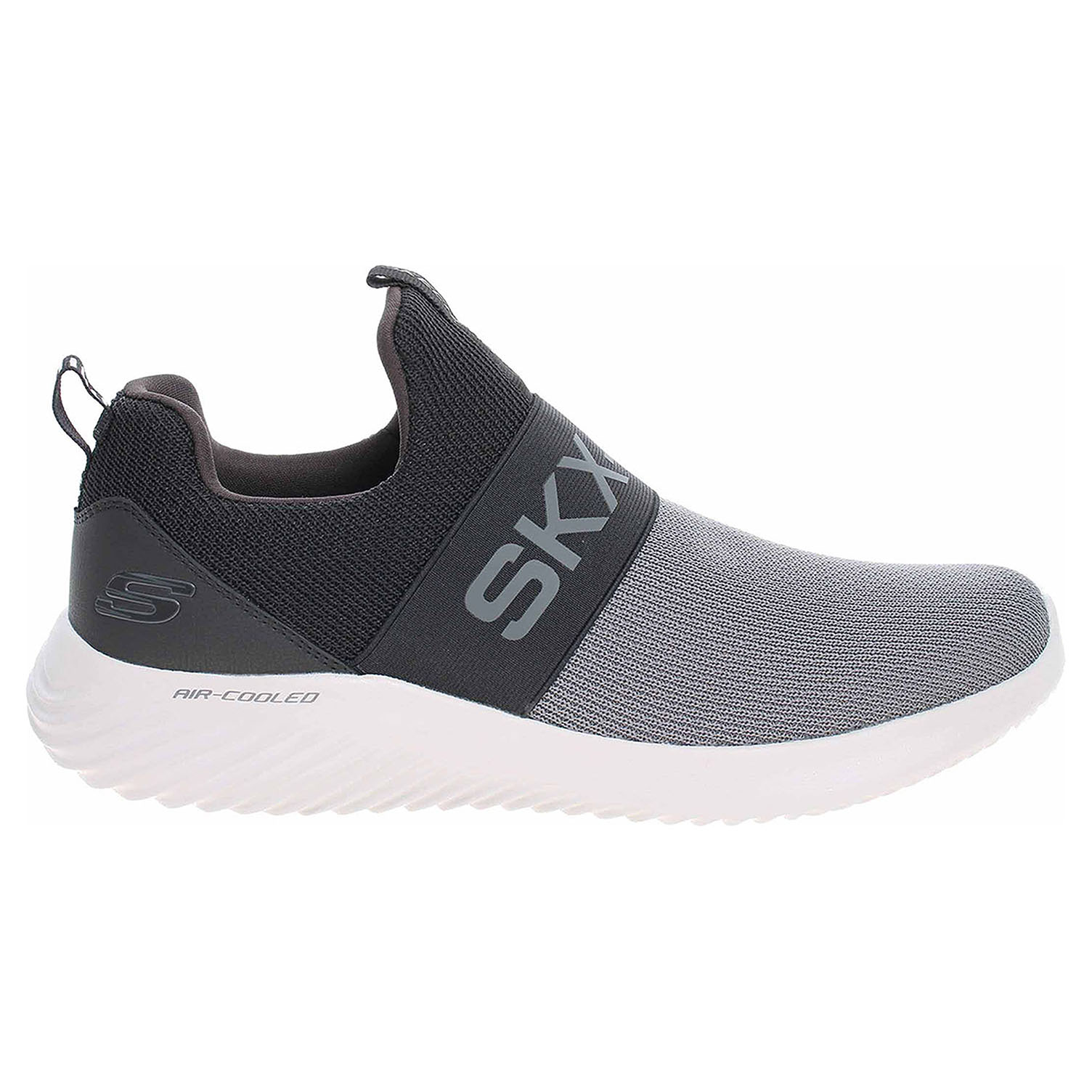 detail Skechers Bounder - Wolfston charcoal-black
