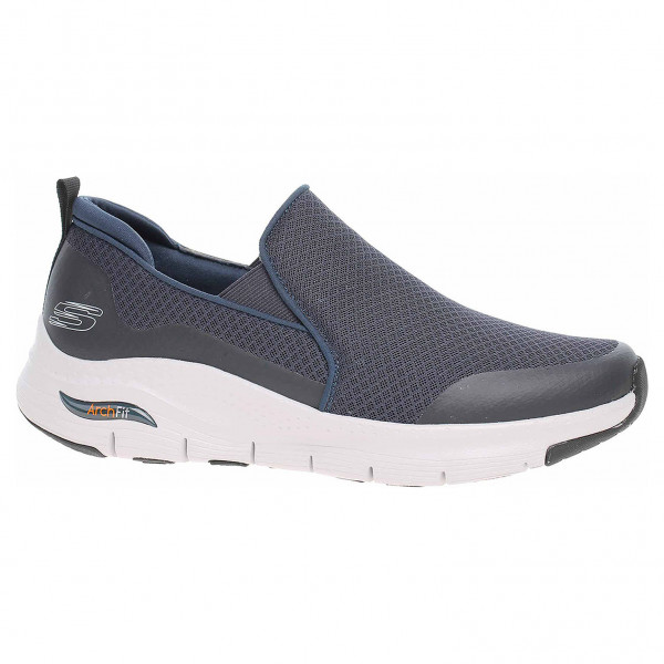 detail Skechers Arch Fit - Banlin navy
