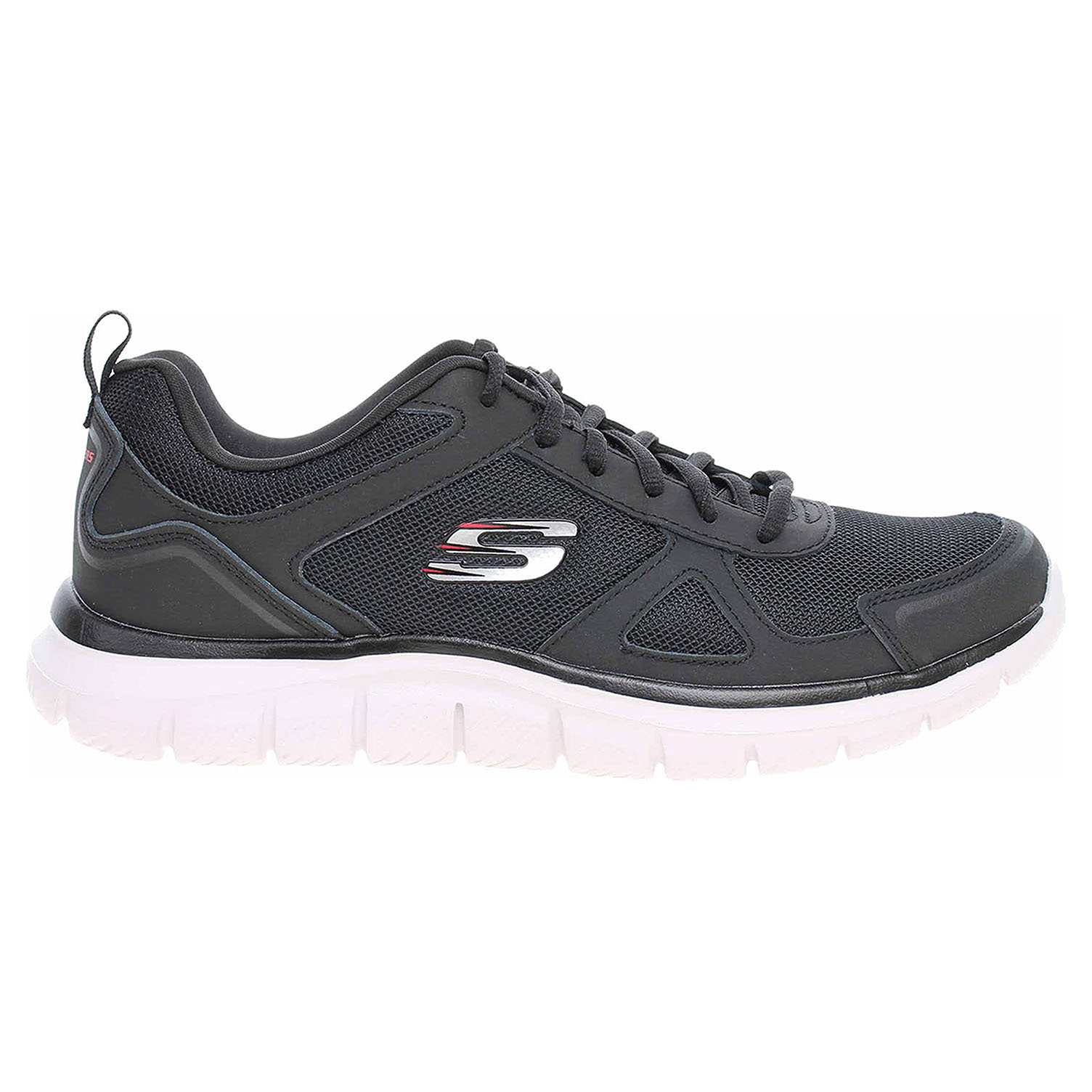Skechers Track - Scloric black-red