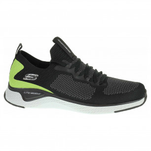 Skechers Solar Fuse - Valedge black-lime
