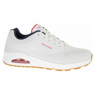 Skechers Uno - Stand On Air white-navy-red
