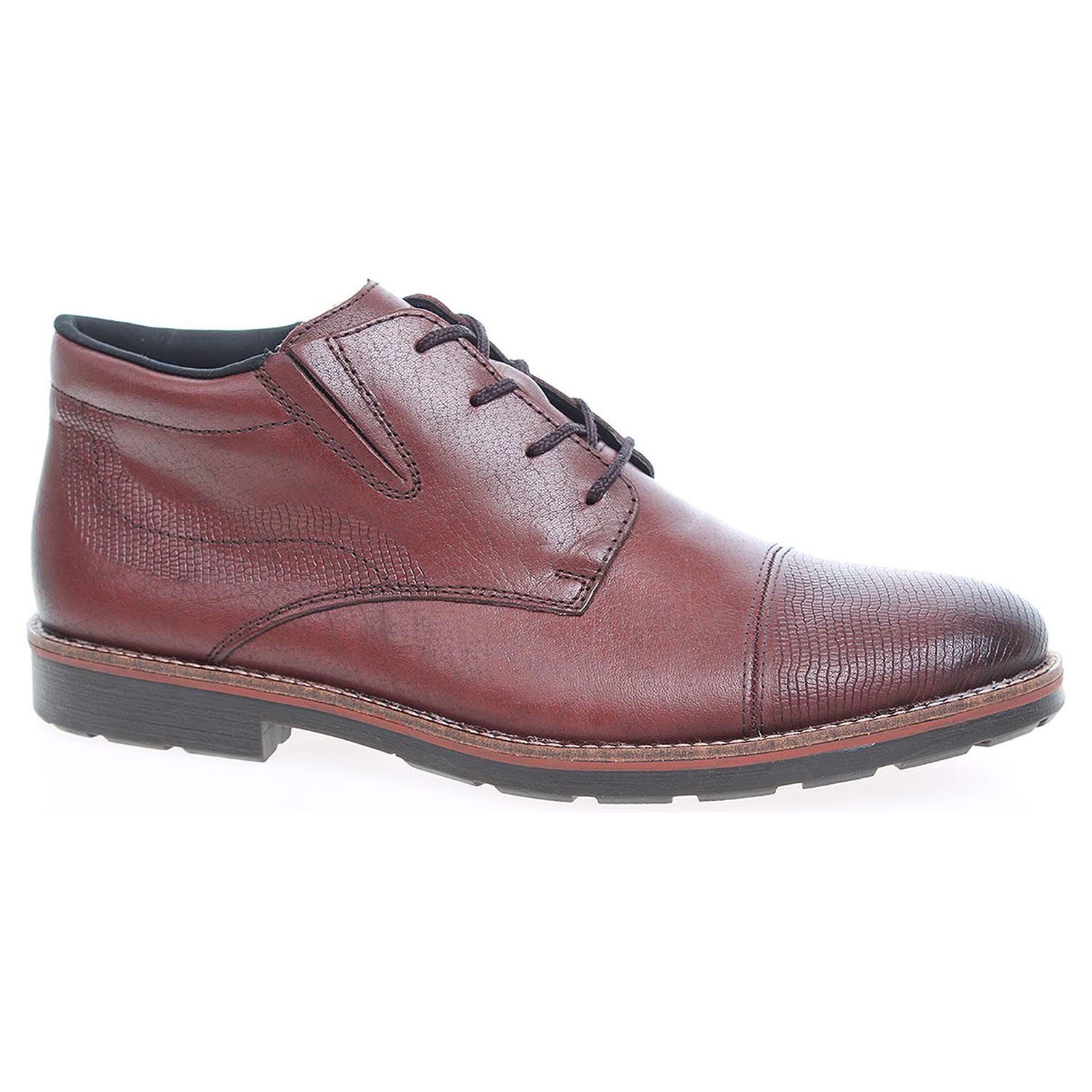 d380312fe8 detail Pánská kotníková obuv Rieker 15341-25 hnědé