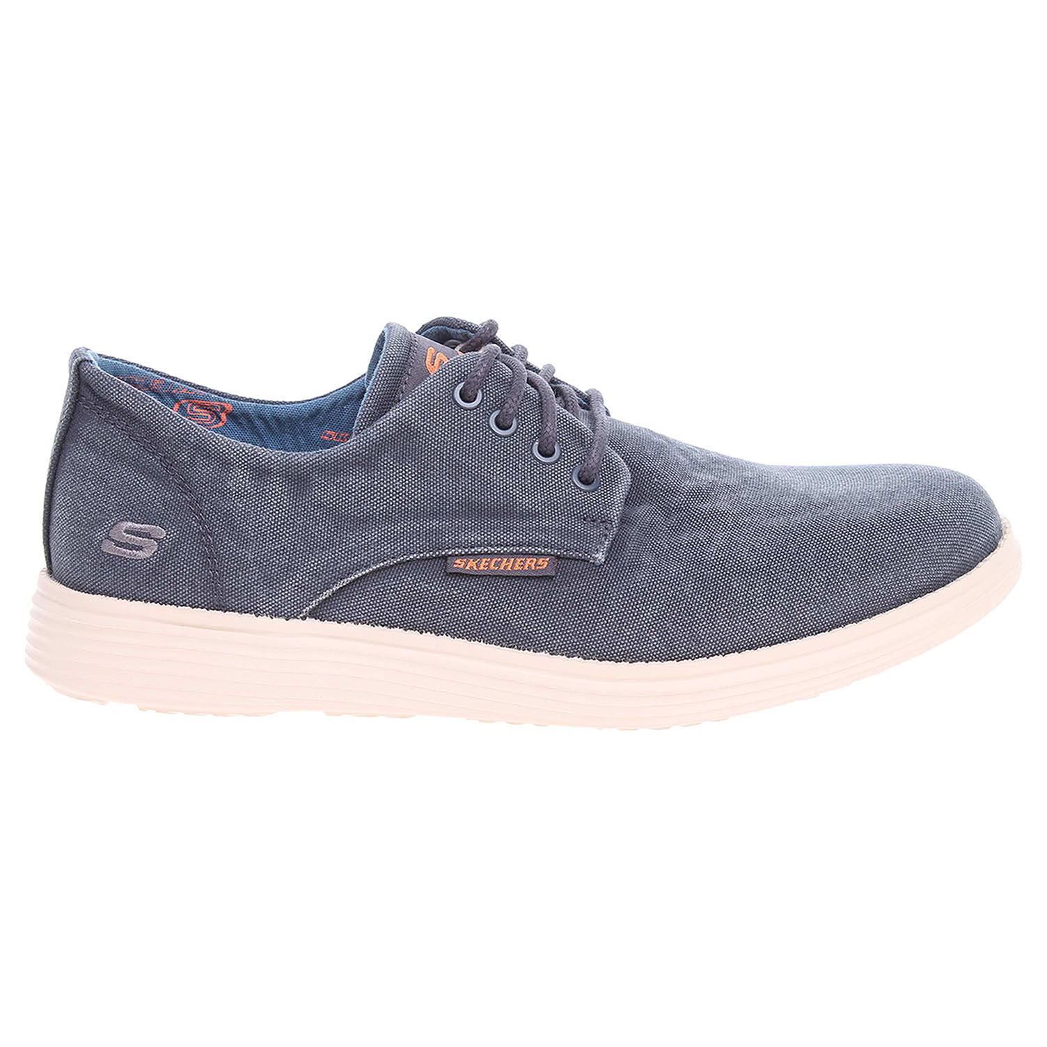 detail Skechers Status Borges navy