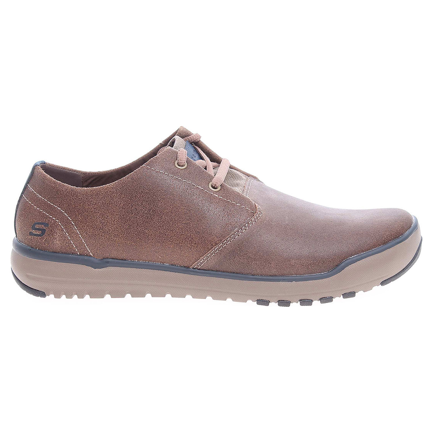 detail Skechers Oldis Volaro brown