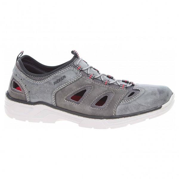 59f6466c7d66 detail Pánské sandály Rieker 17255-45 grau