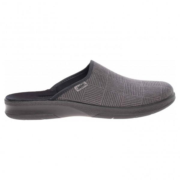 detail Befado pánské domácí pantofle 548M014 šedá 000eeb036d