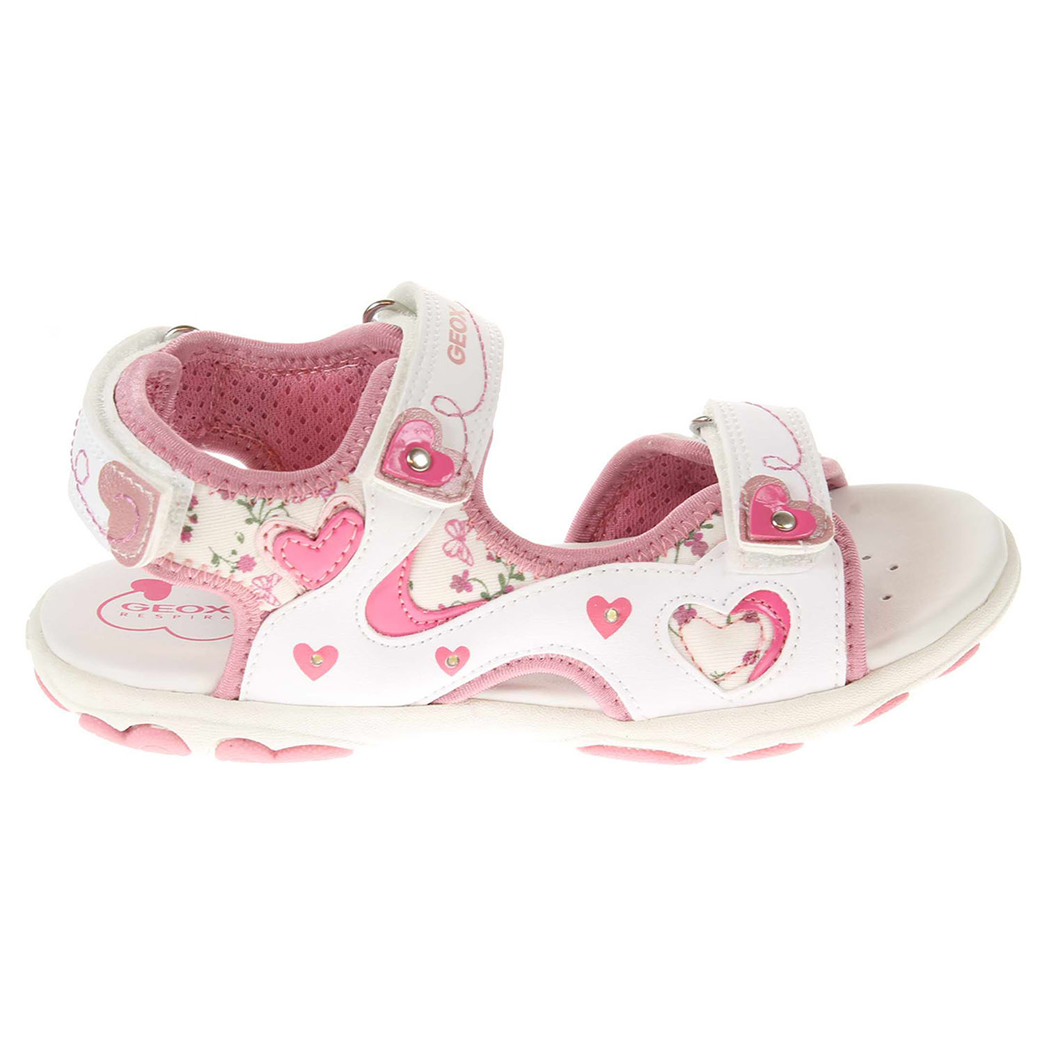 Geox Cuore white / pink