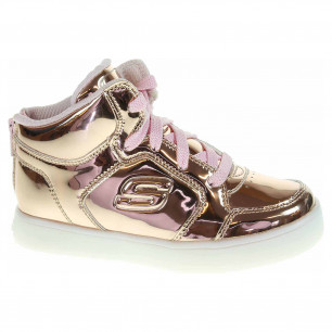 Skechers S Lights-Energy Lights-Lil Dazzlers rose gold