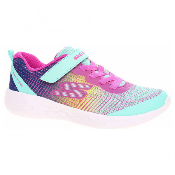 detail Skechers Go Run 600 - Dazzle Strides turquoise-multi
