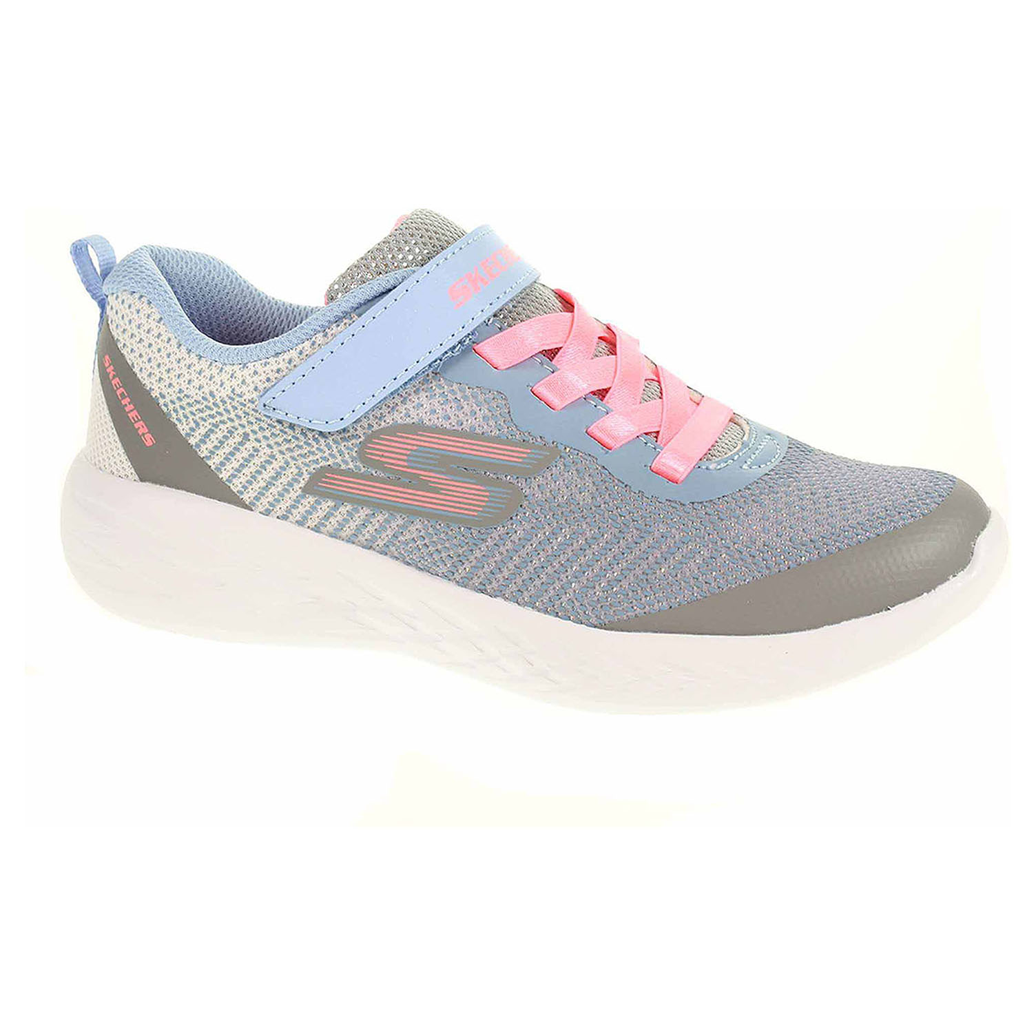 detail Skechers Go Run 600 - Dazzle Strides gray-mt