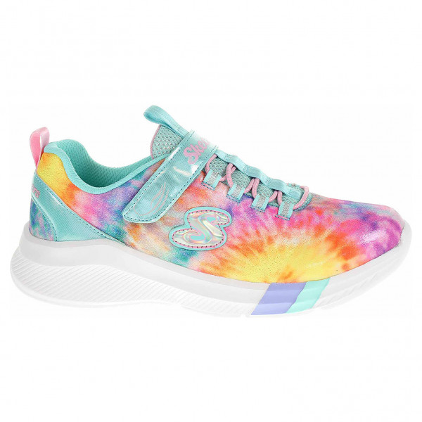 detail Skechers Dreamy Lites - Sunny Groove turquoise-multi