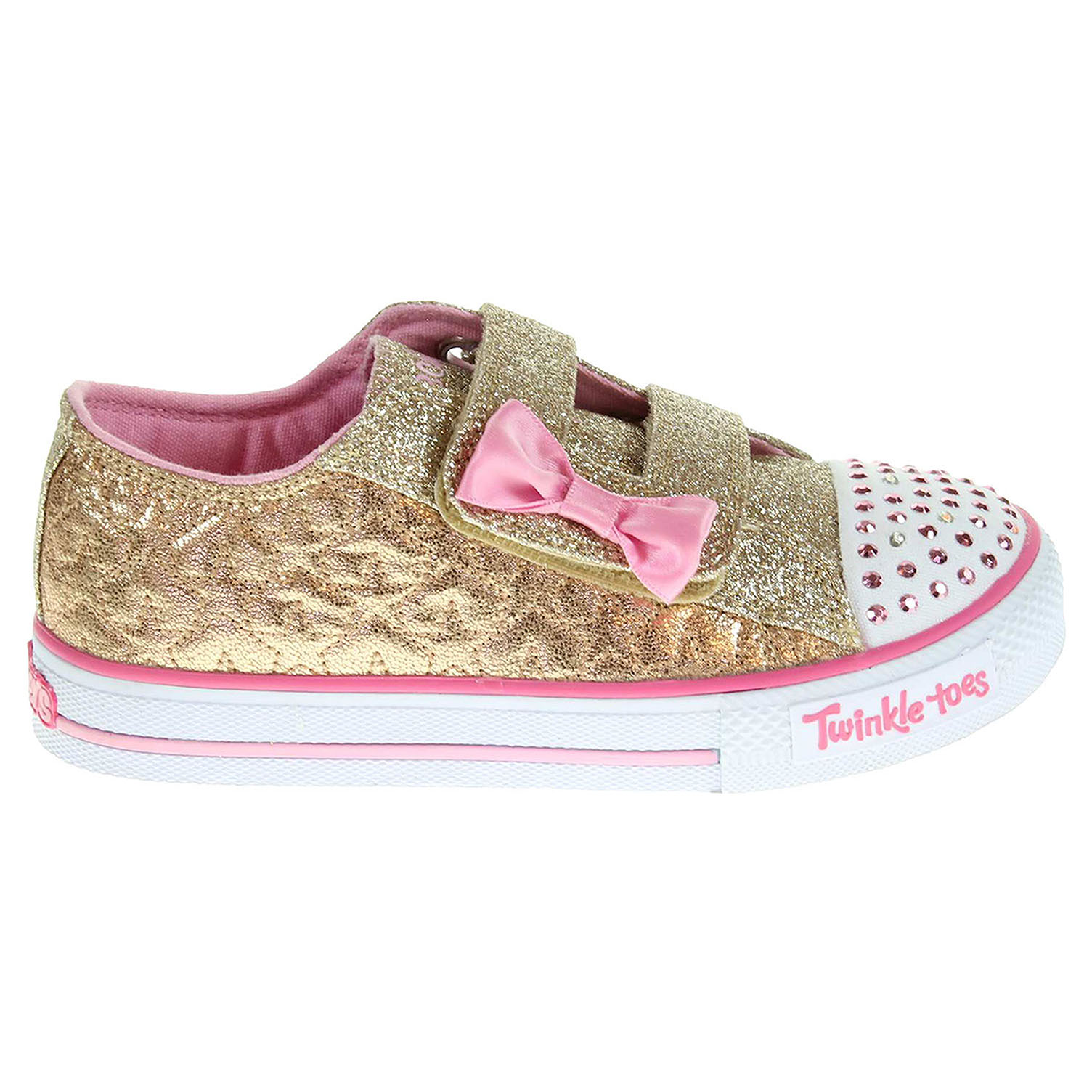 Skechers Starlight Style gold-pink