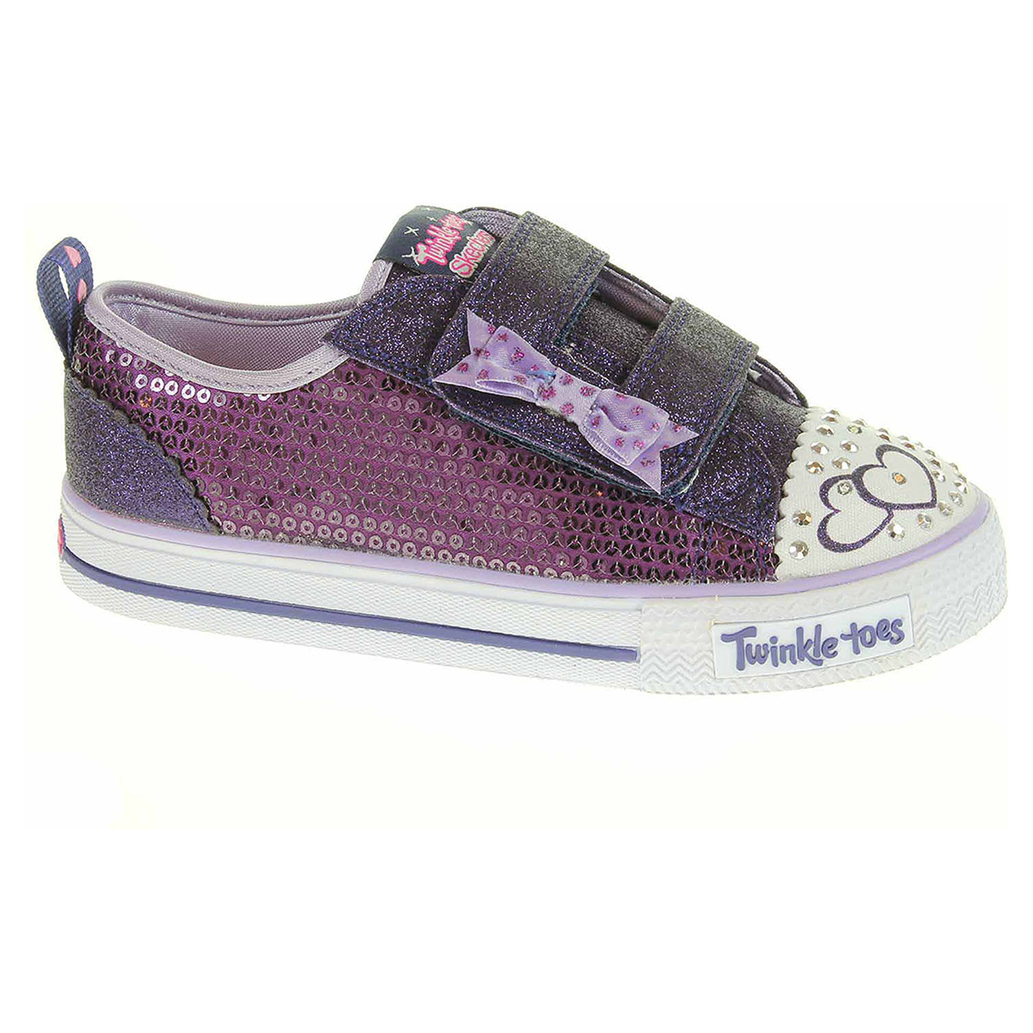 náhled Skechers S Lights-Shuffles - Itsy Bitsy purple-blue