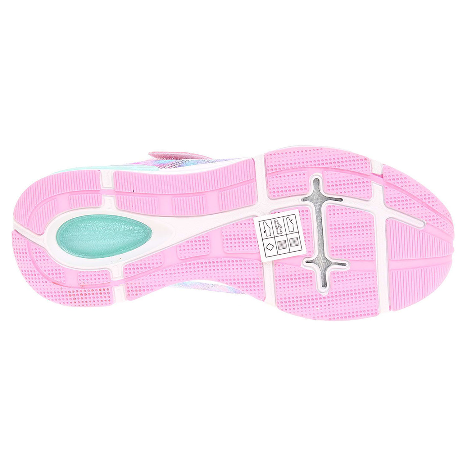 detail Skechers Jumptech-Dreamy Daze light pink-multi