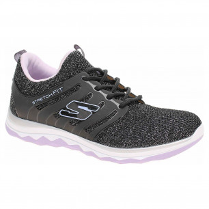 Skechers Diamond Runner - Sparkle Sprints black-lavender