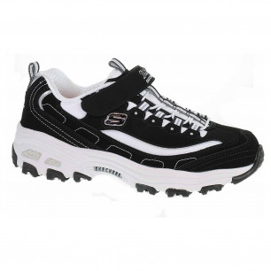 Skechers D´ Lites - Crowd Appeal black-white