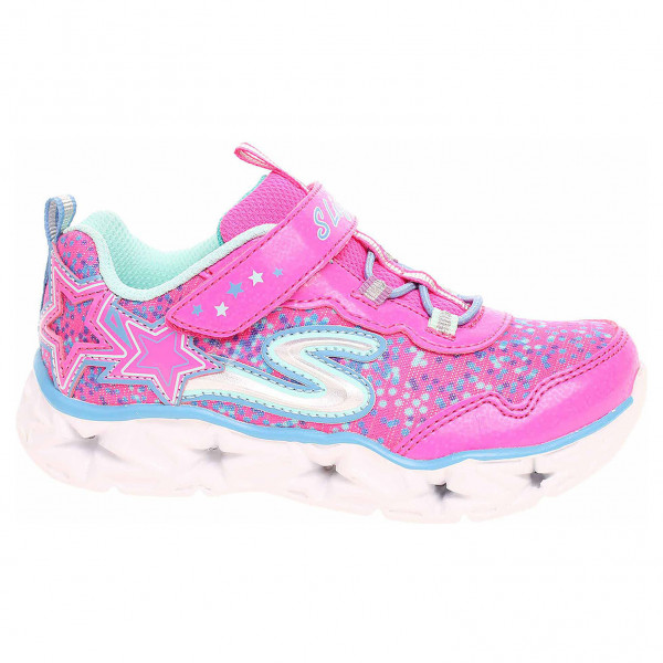 detail Skechers S Lights - Galaxy Lights neon-pink-multi