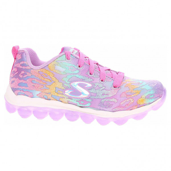 detail Skechers Skech-Air - Wild Jumpz levender-multi