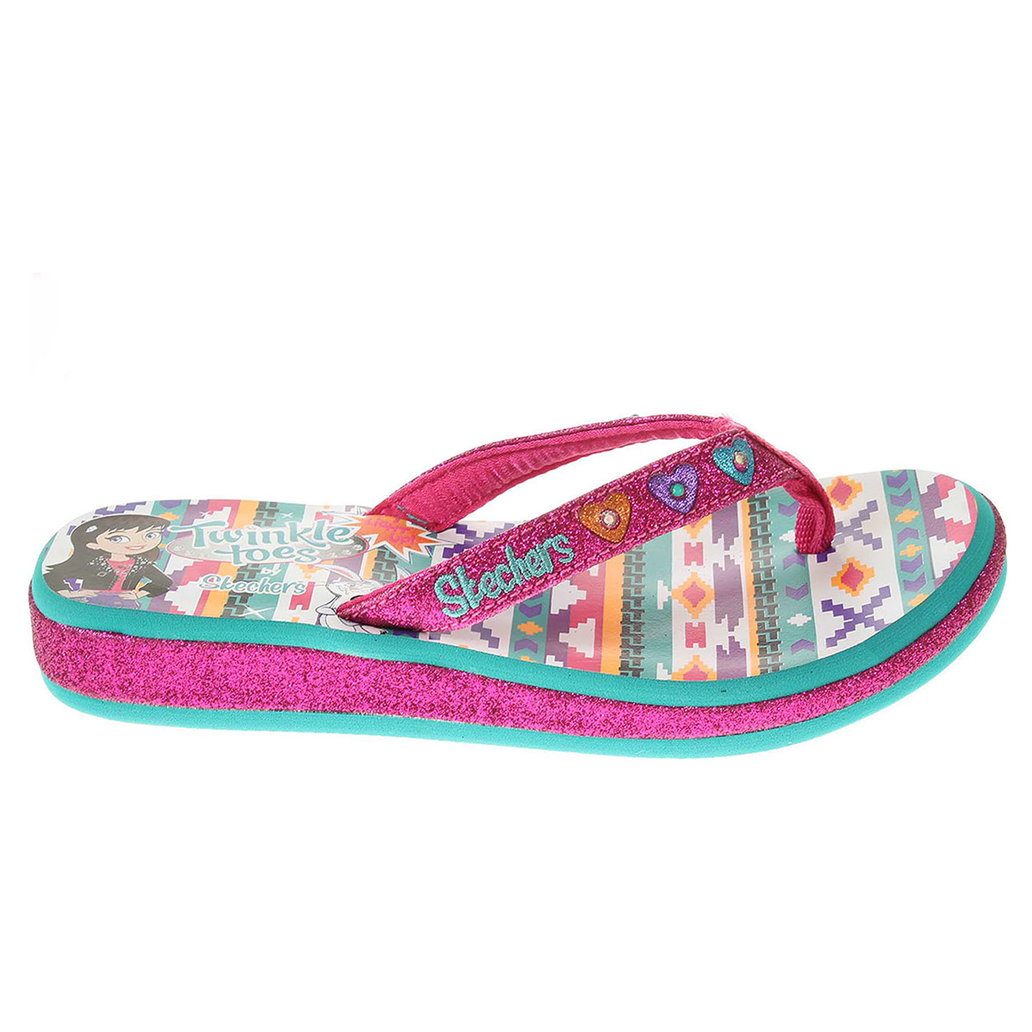 Skechers Summerglow h.pink-aqua