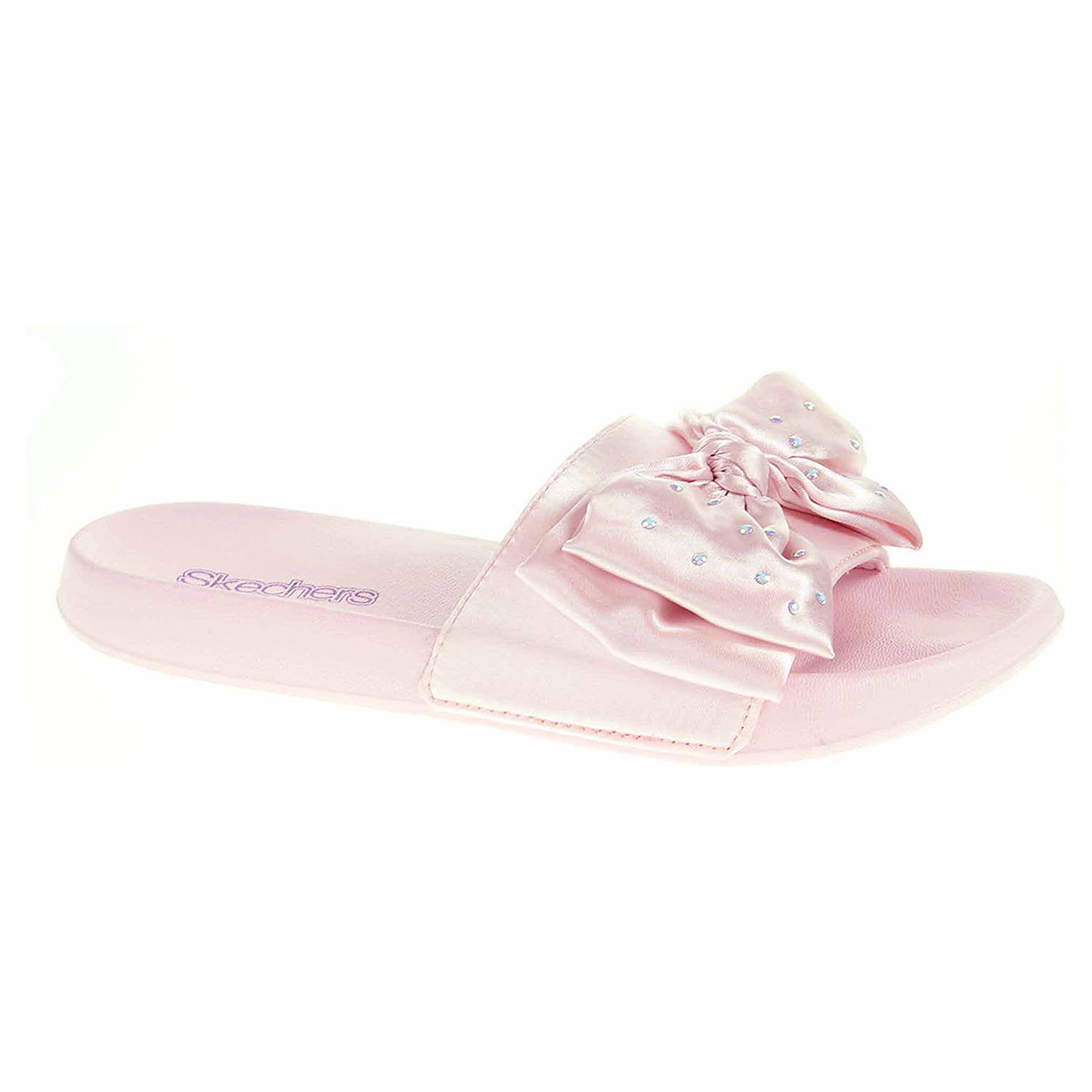 detail Skechers Sunny Slides - Satin Shimmy pink