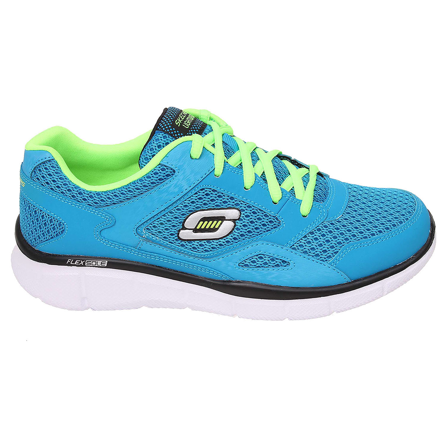Skechers Equalizer blue-lime