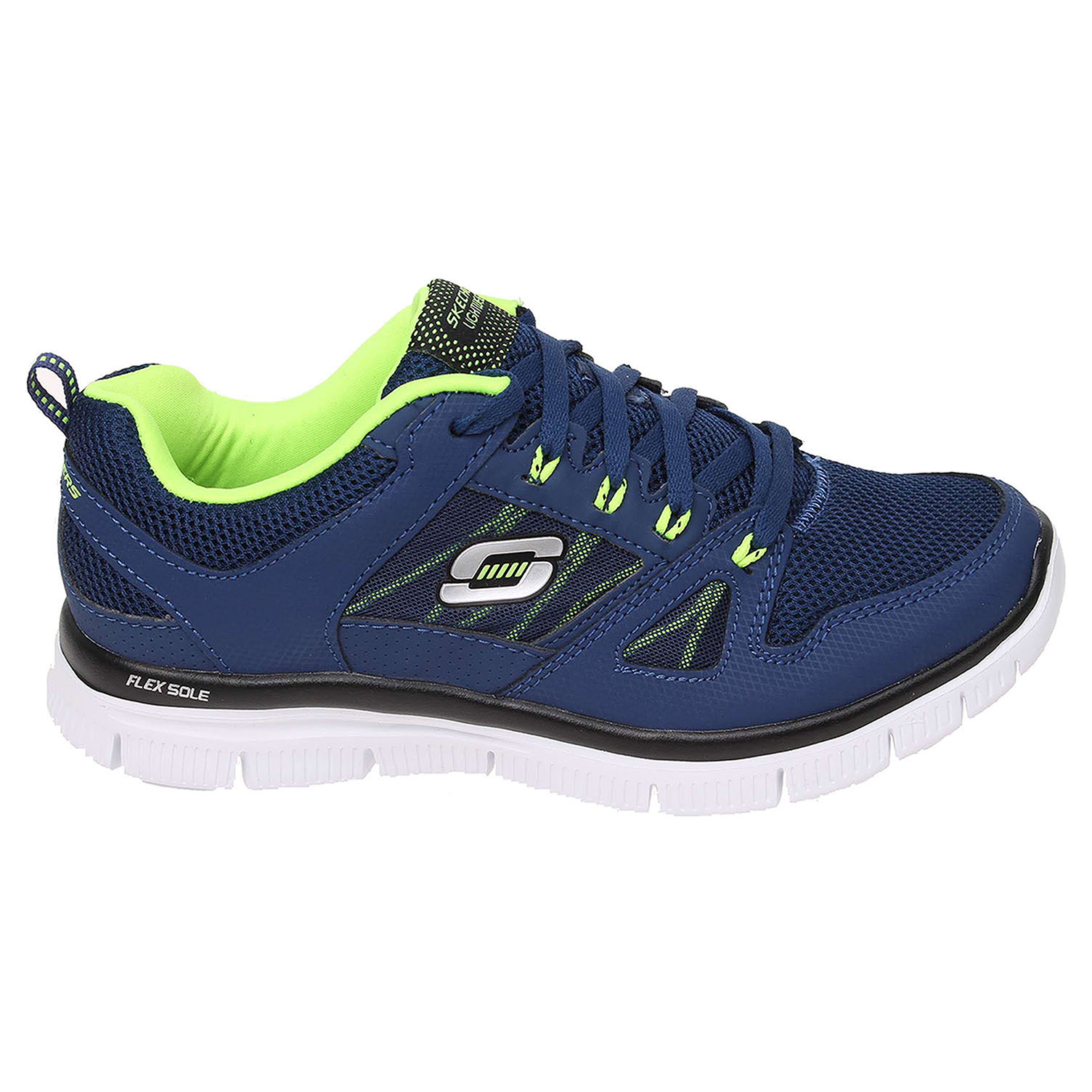 Skechers Flex Advantage navy-yellow