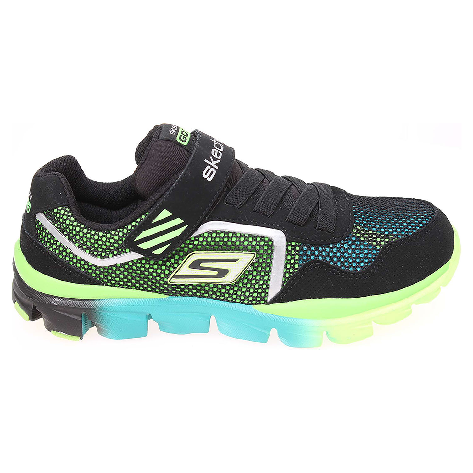 Skechers Lil Rider black-lime