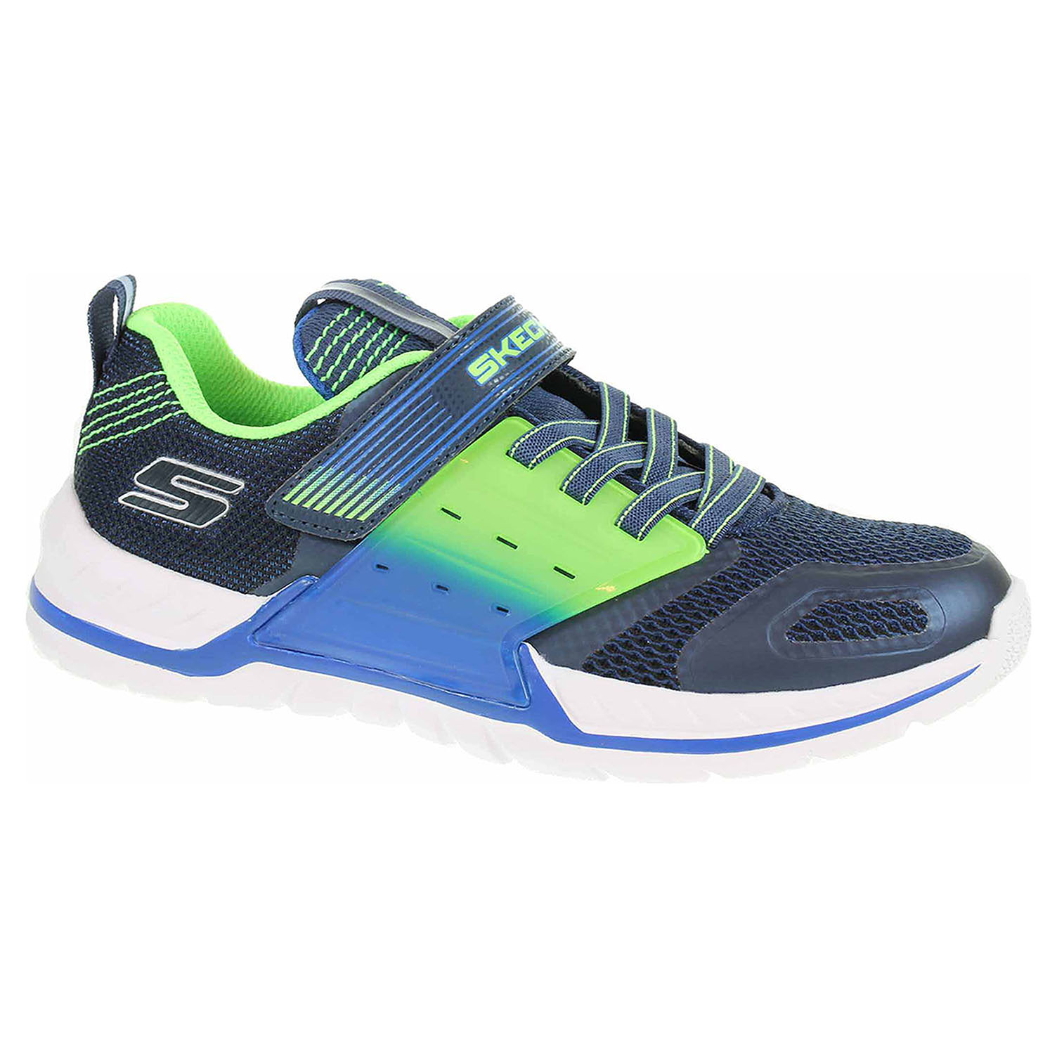 detail Skechers Nitrate 2.0 navy-lime