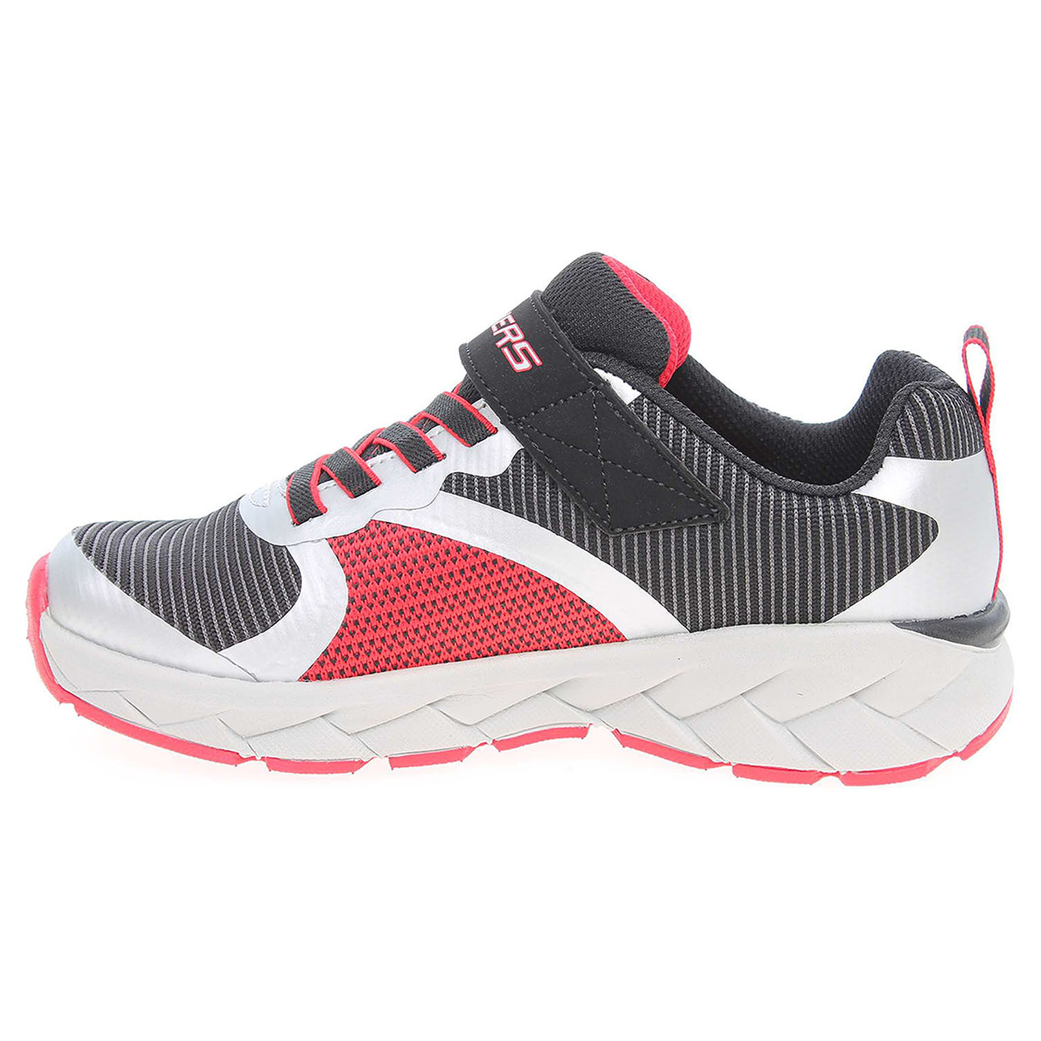 náhled Skechers Zipperz - Perplex black-silver-red