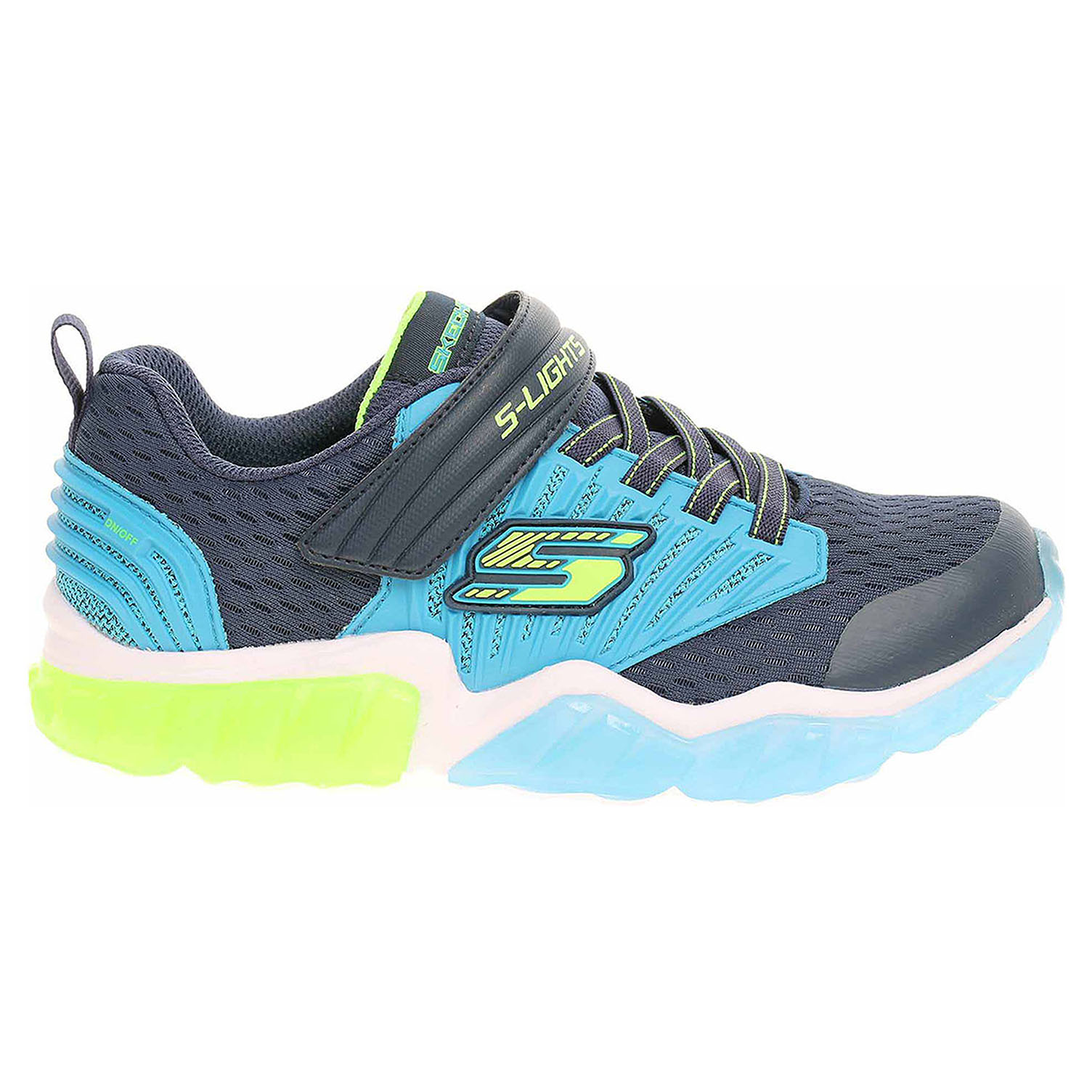 náhled Skechers S Lights - Rapid Flash navy-blue